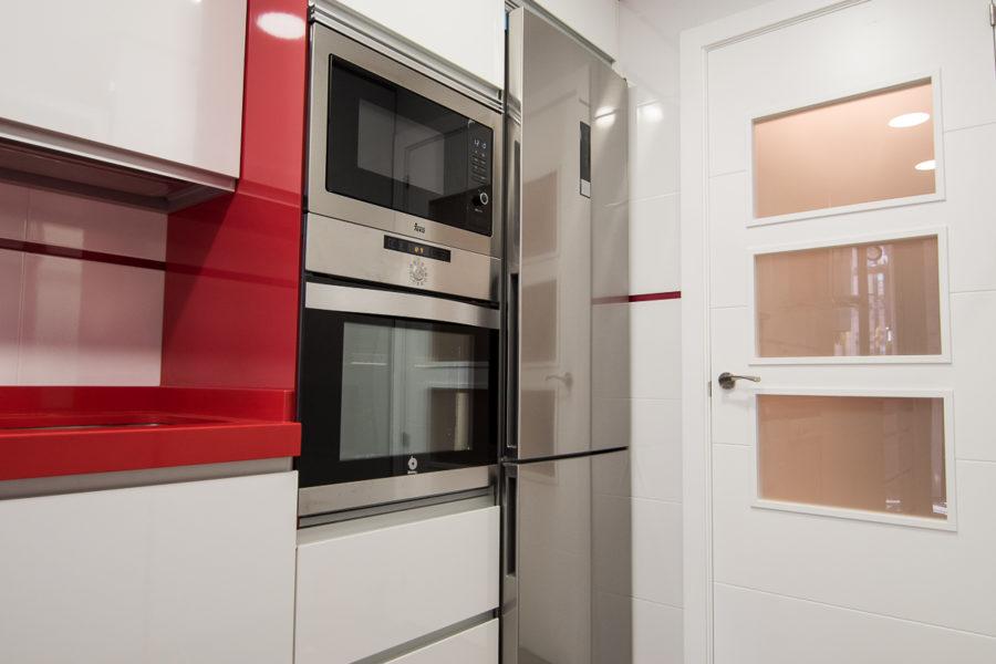 reforma cocina con electrodomesticos incluidos