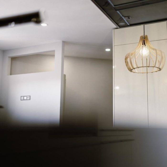 luz colgante cocina